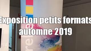 Atelier d'aquarelle le Partage, exposition des petits formats, automne 2019