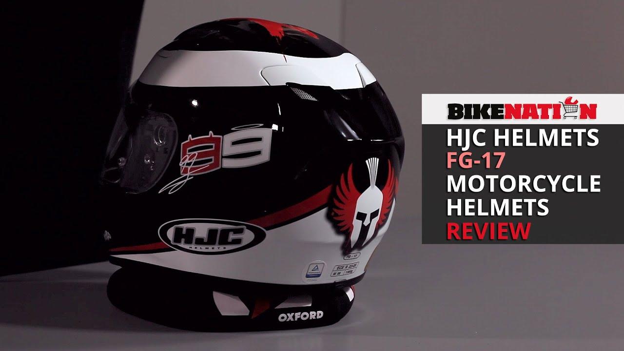 hjc helmets fg 17 motorcycle helmets review youtube. Black Bedroom Furniture Sets. Home Design Ideas