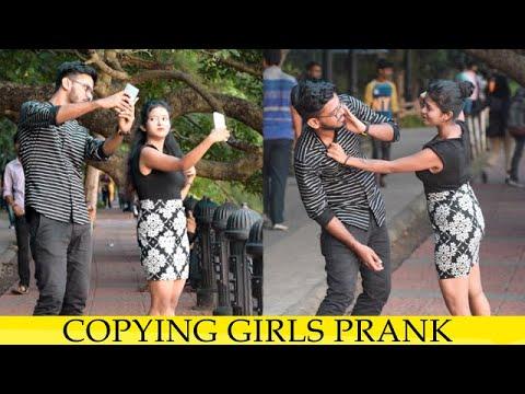Copying Girls Prank (Gone Wrong)II Pranks in India II JSM Brothers