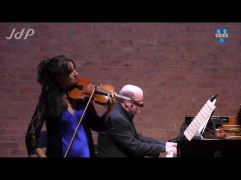 Fauré: Romance for violin and piano in B flat, Op.28 (Sara Trickey and Daniel Tong) at the JdP
