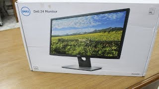 Dell 24 inch Monitor SE Unboxing and Review Hindi