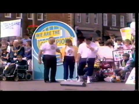 We are the champions - disabled special 1984
