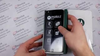 Распаковка Moto Z Play Европа - Black & Lunar Grey [XT1635-02]