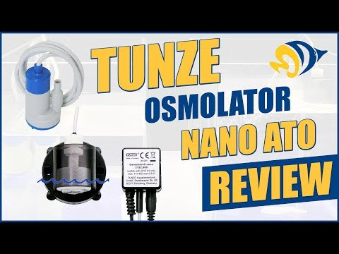 Keep Small Tank Parameters Stable with Tunze's Osmolator