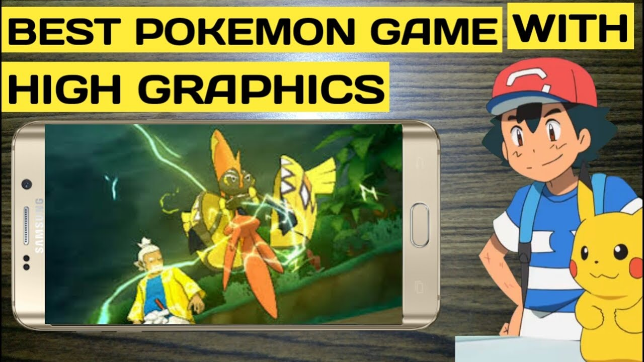 Top 9 Best Pokémon Games For Android 2019 (Updated) - YouTube