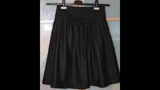 Женская осенняя юбка с алиэксресс. Обзор#