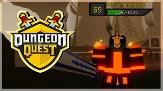 CARRY ME PLEASE! | Dungeon Quest - Roblox LiveStream (Grinding Pirate Outposts) [level 69]
