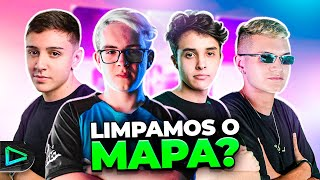 NOVO MEMBRO?! SQUAD DA LOUD FORTNITE COM BLACKOUTZ!!