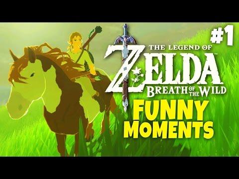 Zelda: Breath of the Wild - Funny Moments #1 - Goat Bomb
