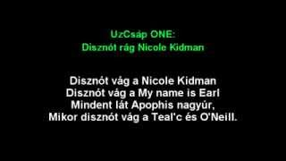 UzCsáp ONE Disznót rág Nicole Kidman