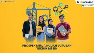 Prospek Kerja Kuliah Jurusan Teknik Mesin