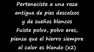 "Shakira ""Pies descalzos, Sueños Blancos"" (letra / lyrics)"