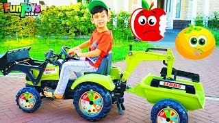 Farming in the Backyard with Tractor