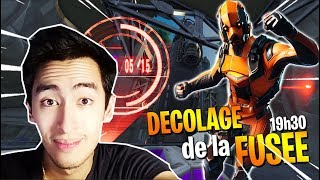 🔴 LIVE FORTNITE - DECOLLAGE OF THE FUSEE At 7:30 pm! NEW 'SKIN LEGENDAIRE' AND 'DANCE'!