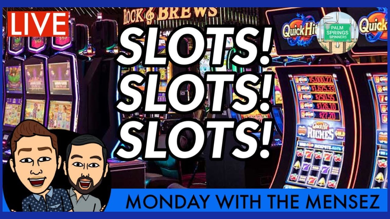 🔴LIVE SLOT MACHINE PLAY FROM SAN MANUEL CASINO🦩MONDAY WITH THE MENSEZ
