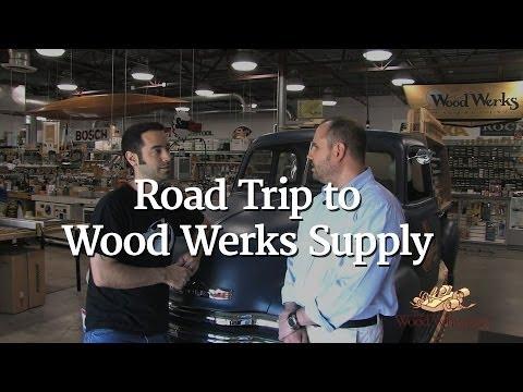 75 Road Trip To Wood Werks Supply Youtube
