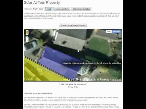 Solar Panel Checker - Video Tutorial For Watt Energy Saver