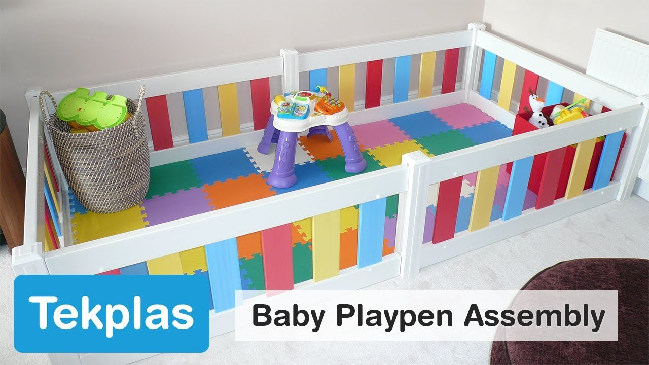 Baby Playpen How Baby Playpen Toddler Playpen White Baby Toddler Tekplas