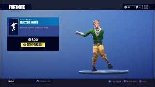 Electro Swing With All My Skins (BEST DANCE IN FORTNITE!)