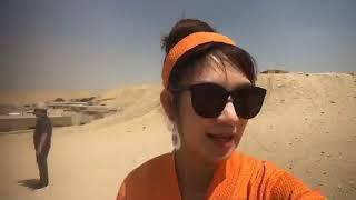 Du Lịch Cùng Lý Hải Minh Hà Kim Tự Tháp, Cairo, Ai Cập nhé !
