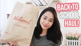 Video Back-to-School Supplies Haul 2017 + Giveaway! ft. National Book Store (Philippines) | ThatsBella download MP3, 3GP, MP4, WEBM, AVI, FLV Agustus 2017