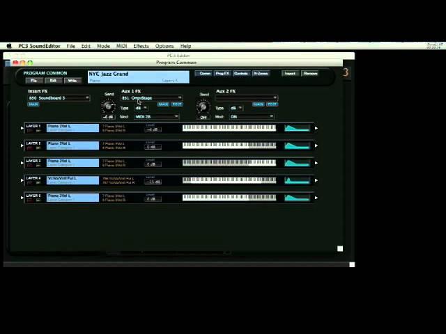 Kurzweil PC3 Series: SoundTower Desktop Editor Introduction