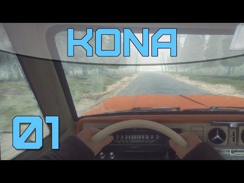 Kona Ep.1 - MYSTERIOUS CAR CRASH!!! (Let's Play / Gameplay)