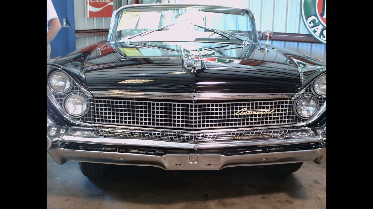 1959 lincoln continental mark iv convertible blk zh110912