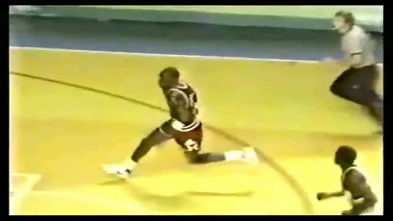 Michael Jordan Cradle Dunk vs Bucks - YouTube f919b546bf