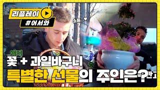 [어서와 한국은 처음이지 77화] '특별한 선물' 꽃+과일바구니 선물 주인의 정체는?