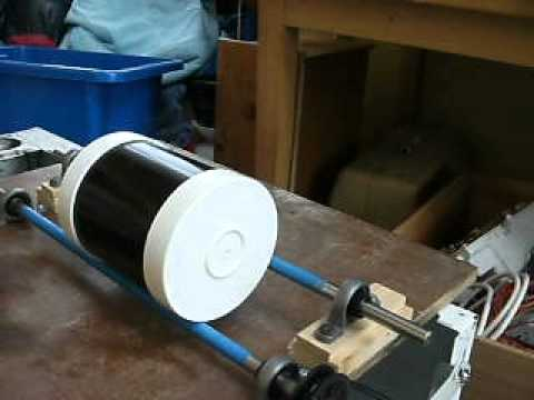 Home made rock tumbler rock polisher - YouTube