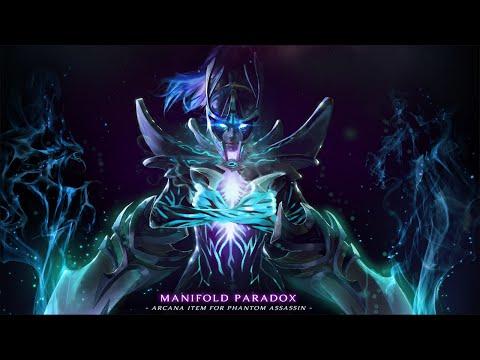 видео: arcana для phantom assassin - manifold paradox
