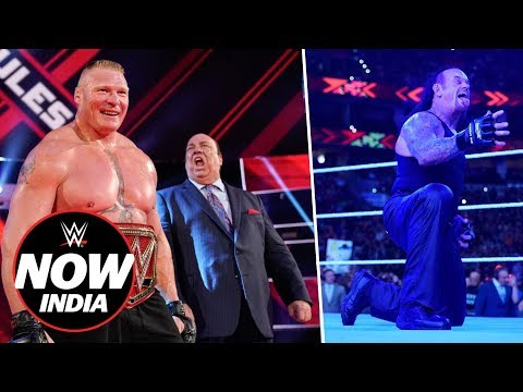WWE Extreme Rules Results: WWE Now India