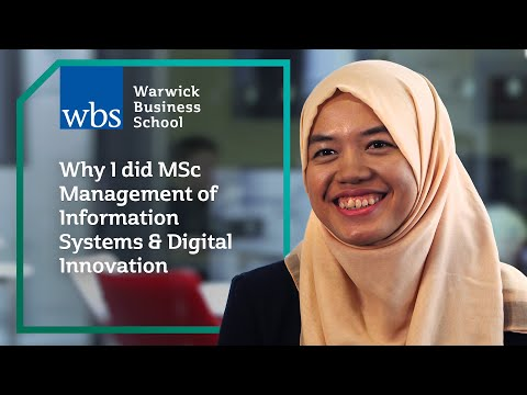 Why I did MSc Information Systems Management & Innovation