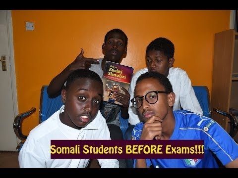 Somali Students Before KCSE Exams
