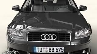 3D Model of Audi A3 Review