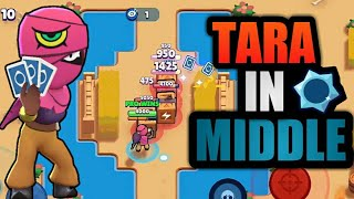Rushing the Middle with Tara(400+🏆) [Brawl Stars]
