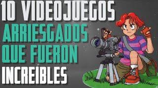 10 VIDEOJUEGOS que ARRIESGARON pero FUERON INCREÍBLES