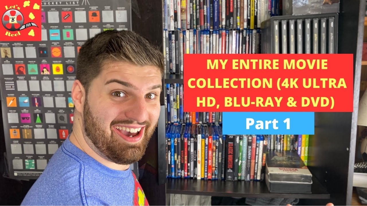 Download MY ENTIRE MOVIE COLLECTION (4K ULTRA HD, BLU-RAY & DVD) - Part 1