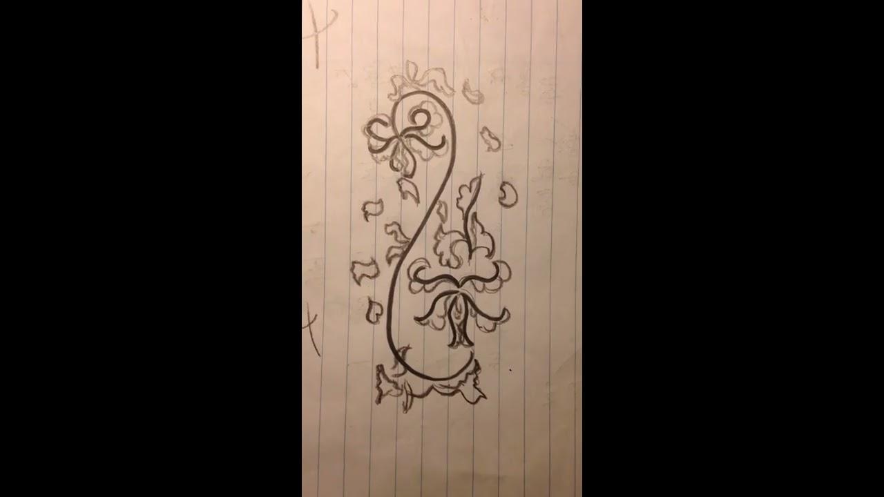 Cách vẽ hoa bằng bút chì đơn giản(How to draw flowers easily)