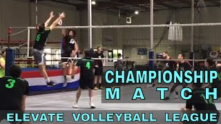 EVL Championship Match 2018 - Slam Squad vs Edwards (Elevate Volleyball League)