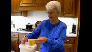 Making Blueberry Jelly with Granny