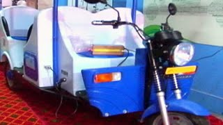 India's first e-rickshaw with no Chinese components
