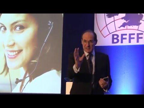 Future of Food Retail - customers. British Frozen Food Federation - Futurist keynote speaker