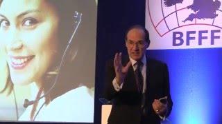 Future of Food Retail - customers. British Frozen Food Federation - Futurist keynote speaker