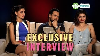 Emraan, Prachi & Nargis talking exclusively on 'See Taare Mastiii Mein' about Azhar! (Episode 56)
