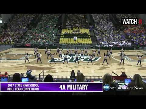 4A 5A Drill Team: 2017 Utah State Drill Finals