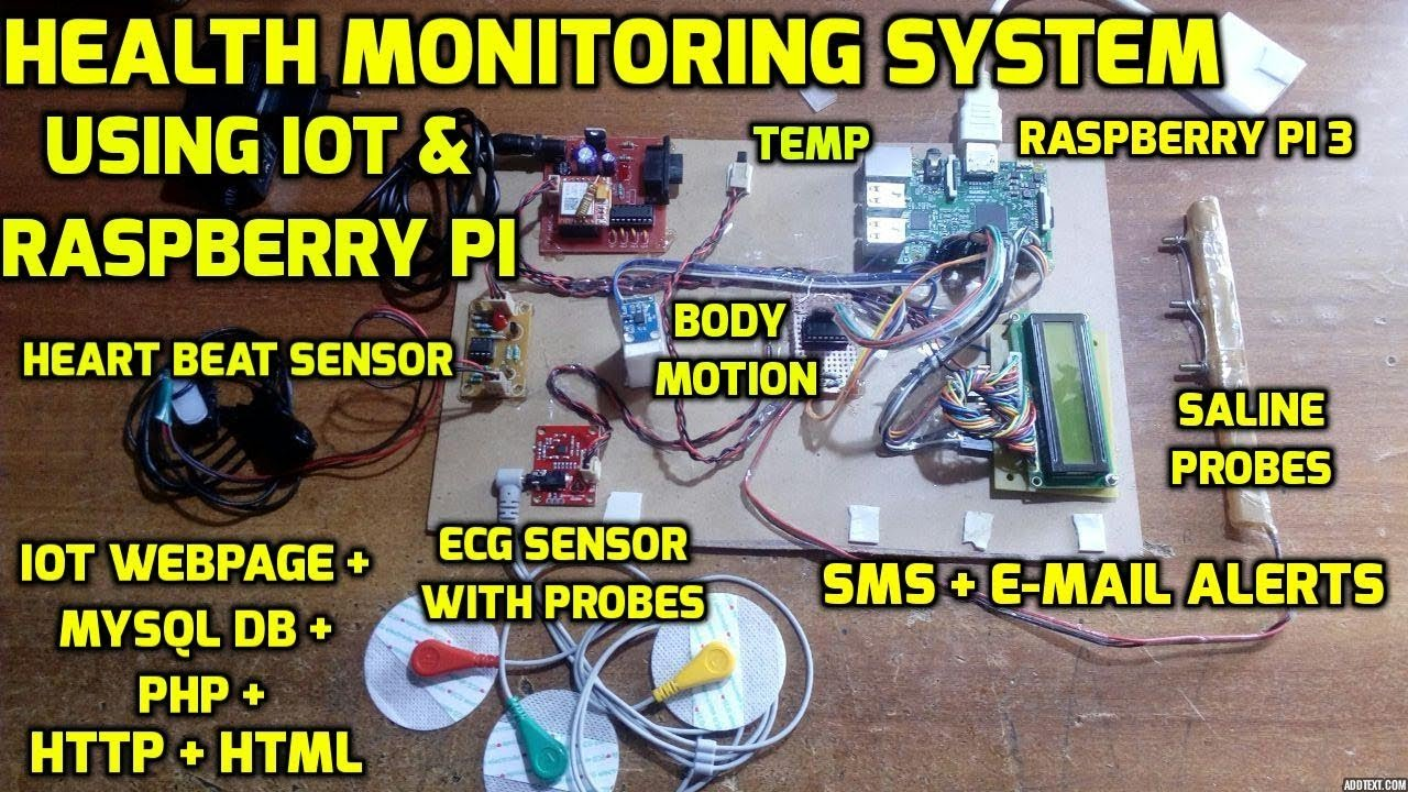 Iot Based Integrated Smart Health Care Monitoring System Using Wiringpi In Php Raspberry Pi 3