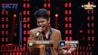 "Sonny Saragih ""Feel"" Robbie Williams - Rising Star Indonesia Super 9 Eps 19 2"