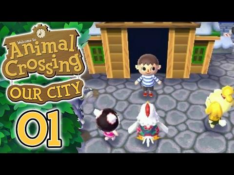ANIMAL CROSSING : OUR CITY - LA VILLE ONLINE !